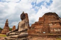 Ayutthaya, Thailand Buddha. Ayutthaya (another Chinese translation: Ayurveda him Jesus House; Thai: พระนครศรีอยุธยา; English: Phra Royalty Free Stock Image