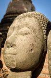 Ayutthaya (Thailand) Buddha statue Stock Photo