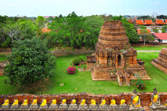 Ayutthaya in Thailand Royalty Free Stock Photo