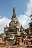 Ayutthaya, Thailand: Chedis at Wat Phra Si Sanphet Stock Photo