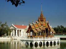 Ayutthaya, Thailand: Golden Pavilion Royalty Free Stock Image