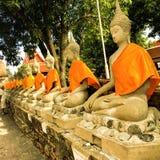 Ayutthaya, Thailand - Mei 3, 2019: De oude Provincie van tempelayutthaya, Thailand Oude tempel in de historische stad van Ayut stock fotografie