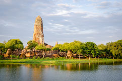 Ayutthaya (Thailand), old temple Royalty Free Stock Images