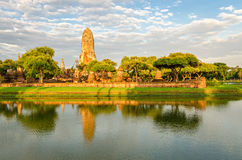 Ayutthaya (Thailand), old temple ruins Royalty Free Stock Image