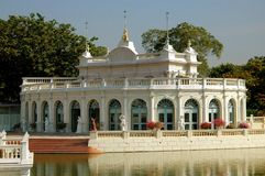 Ayutthaya, Thailand: Royal Palace Pavilion Royalty Free Stock Image