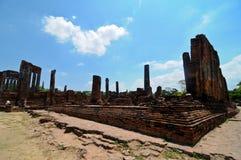 Ayutthaya, Thailand-Ruinen lizenzfreie stockfotografie