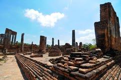 Ayutthaya, Thailand-Ruinen stockfotos