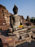 Ayutthaya, Thailand. The ruins of the old city now form the Ayutthaya Historical Park, an archaeological site that contains palaces, Buddhist temples Stock Photo