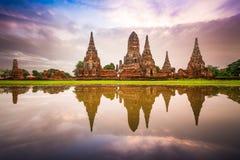 Ayutthaya, Thailand Ruins Stock Images