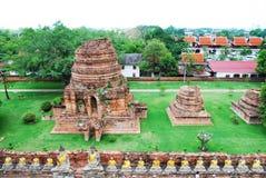 AYUTTHAYA-THAILAND-: Ruiny monaster, ruiny stary p Obrazy Stock