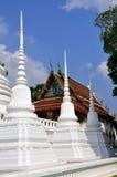 Ayutthaya, Thailand: Viharas at Thai Temple (wat) Royalty Free Stock Image