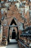 Ayutthaya, Thailand: Wat Chai Watthanaram Royalty Free Stock Image
