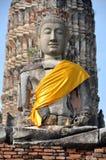 Ayutthaya, Thailand: Wat Chai Watthanaram Stock Photography