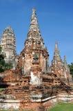 Ayutthaya, Thailand: Wat Chai Watthanaram Stock Photo