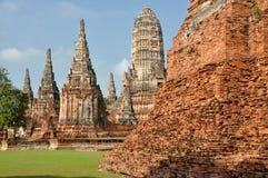 Ayutthaya, Thailand: Wat Chai Watthanaram Royalty Free Stock Photos