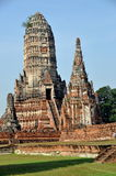 Ayutthaya, Thailand: Wat Chaiwatthanaram Stock Photos