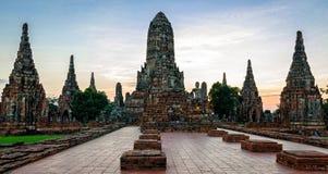 Ayutthaya (Thailand) Wat Chaiwatthanaram temple Stock Photos