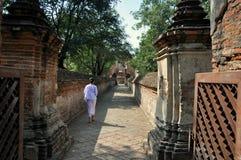 Ayutthaya, Thailand: Wat Maheyong Stock Image