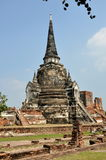 Ayutthaya, Thailand: Wat Phra Si Sanphet Royalty Free Stock Photo