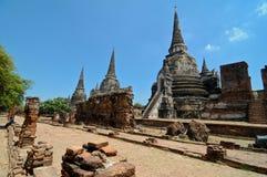 Ayutthaya, Thailand: Wat Prah Si Sanphet lizenzfreie stockfotos