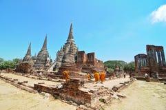 Ayutthaya, Thailand: Wat Prah Si Sanphet lizenzfreies stockfoto