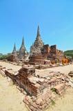 Ayutthaya, Thailand: Wat Prah Si Sanphet stockfotografie