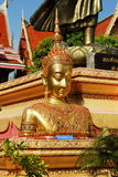Ayutthaya, Thailand: Wat Prayathikaran Buddha stock photography
