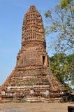 Ayutthaya, Thailand:  Wat Worachet Thep Banrung Stock Images