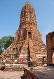 Ayutthaya, Thailand: Wat Worachet Thep Banrung Royalty Free Stock Image