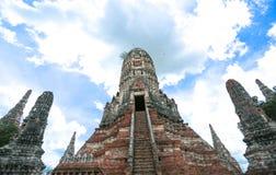 Ayutthaya världsarv Royaltyfri Fotografi