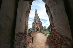 Ayutthaya världsarv Arkivbild