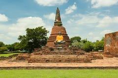 Ayutthaya världsarv Royaltyfria Foton