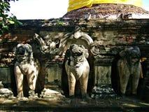 Ayutthaya: Världsarv Arkivfoton