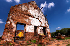 Ayutthaya Wat-wat-worachettharam Στοκ Εικόνες