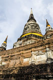 Ayutthaya, Wat Yai Chai Mongkol. fotografia stock