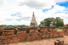 Ayutthaya-Welterbe Stockfoto