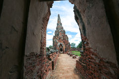 Ayutthaya-Welterbe Stockfotografie