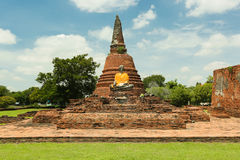 Ayutthaya-Welterbe Lizenzfreie Stockfotos