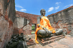 Ayutthaya-Welterbe Lizenzfreies Stockbild