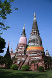 Ayutthaya-Welterbestätte Stockfoto