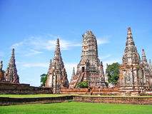 Ayutthaya: Światowe dziedzictwo Obraz Stock