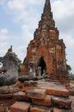 Ayutthaya światowego dziedzictwa miejsce Bangkok Fotografia Stock