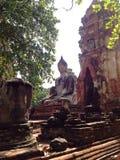 Ayutthaya 4. The World Heriage, Ancient, Bhuddha, Historic of Thailand Stock Images