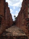 Ayutthaya 1, The World Heritage. Historic, Ancient city Royalty Free Stock Image