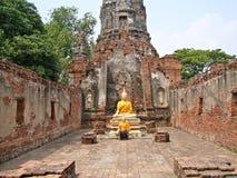 Ayutthaya : world heritage Royalty Free Stock Photography