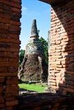 ayutthaya7 phra sanphet sri wat zdjęcie stock