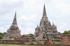 Ayutthayabezoek Thailandia Royalty-vrije Stock Afbeelding