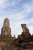 ayutthayaen fördärvar Royaltyfri Foto