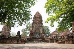 ayutthayanakhonphra si Royaltyfria Bilder