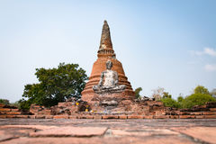 ayutthayanakhonphra si Arkivfoto